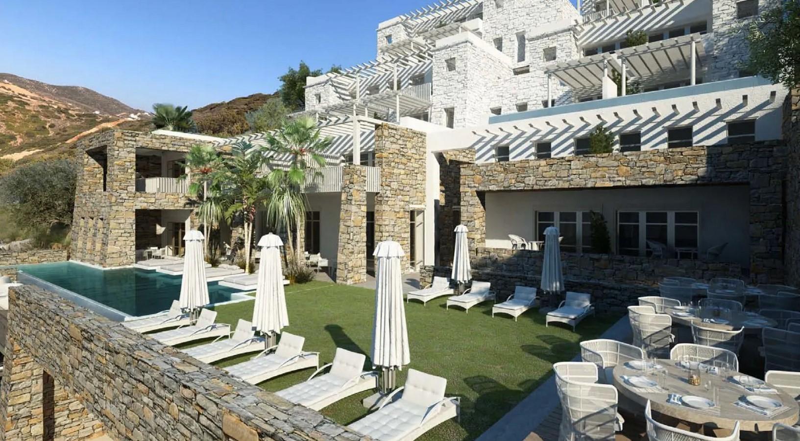 Ydor Hotel & Spa στην Κέα